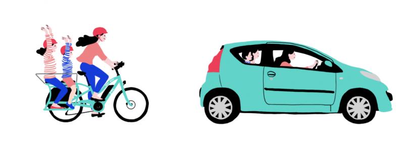ecologie vélo vs voiture